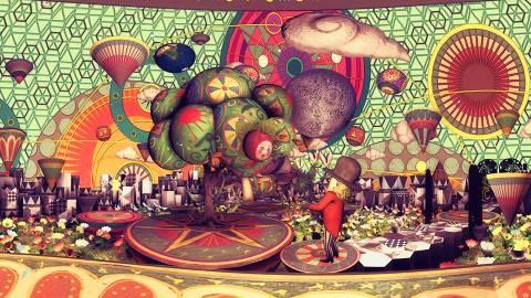 360°VR絵本「博士と万有引力のりんご」