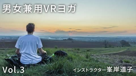 """""""男女兼用VRヨガ Vol.3 インストラクター峯岸道子"""""""
