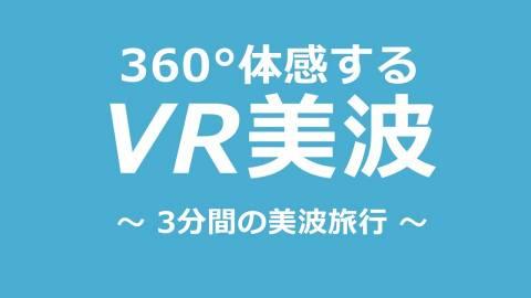 360°体感する VR美波