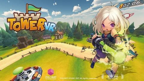 【VRタワーディフェンスゲーム】Tower VR